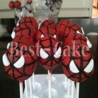 Pop cakes Spiderman